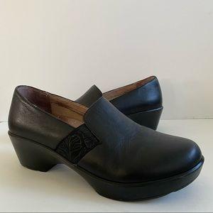 Dansko Jessica Slip on Shoes Clog  Black